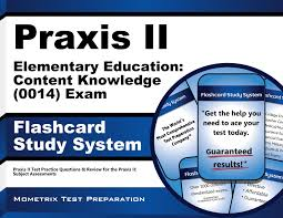 buy praxis ii elementary education content knowledge 0014
