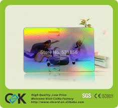 Custom Holographic Business Cards Custom Fancy Plastic Hologram Business Cards Credit Card Size