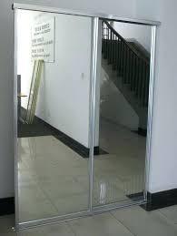 Sliding Glass Closet Door Sliding Mirror Closet Door Sliding Mirror Closet Doors Install