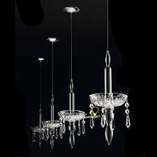 Single Pendant Lights Modern Single Crystal Candle Pendant Lighting 9049 Browse