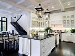 Pictures Of Kitchens With White Cabinets And Black Countertops Hardwood Floors And White Walls Also Hardwood Floors And