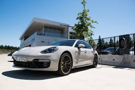 electric porsche panamera porsche u0027s newest hybrid is great on the track and even better on