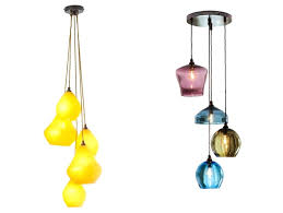 Glass Pendant Light Fitting Coloured Glass Pendant Lights Kitchen Hanging Tea Light Shades