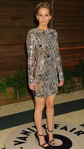 Jennifer Lawrence Vanity Jennifer Lawrence At Vanity Fair Oscar Party In Hollywood