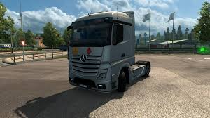 pink mercedes truck mercedes actros mp4 2014 adr plates skin ets 2 euro truck