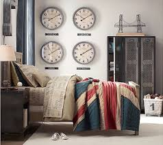 The Lockers The Linen And Clocks For All My Home Cities I Will - Designer boys bedroom