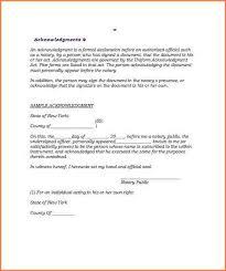 6 notarized letter templates adjustment letter