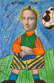 Mona by Art With Mrs Seitz Mona Lisa Parodies
