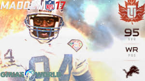 thanksgiving football lineup madden 17 ultimate feast thanksgiving promo 95 herman moore