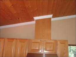 Install Crown Molding On Kitchen Cabinets Kitchen Crown Molding In Bathroom Adding Trim To Kitchen
