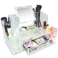 Amazon Organizer Amazon Com Ikee Design Cosmetic Makeup Acrylic Box Organizer