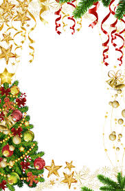 transparent christmas photo frame with christmas tree ovalados