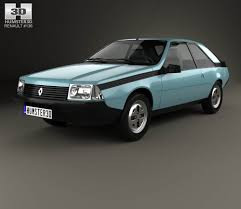 renault fuego convertible renault ika torino coupe 1976 3d model hum3d