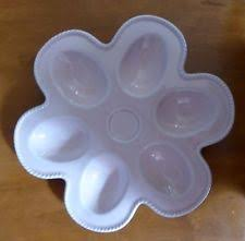 vintage deviled egg plate deviled egg plate ebay