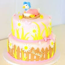fun details help personalize a small round cake customcake