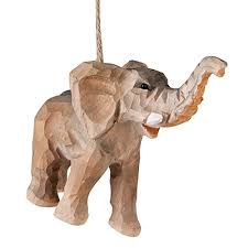 elephant ornaments kritters in the mailbox animal gifts