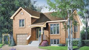 bi level house plans with attached garage front stoop designs split level house plans tri level house