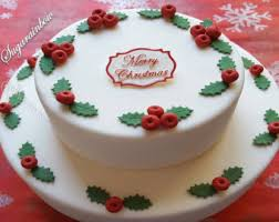 Christmas Cake Decorations Edible by Cake Decorations Supplier By Sugarainbow On Etsy