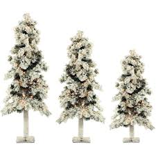 the aisle snowy alpine 3 evergreen pine artificial