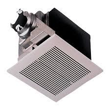 Bathroom Heater Fan Light Shop Panasonic 2 Sone 290 Cfm White Bathroom Fan Energy Star At