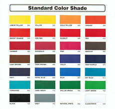 Color Shade by Standard
