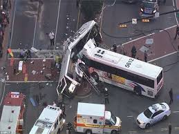 what is considered running a red light newark bus driver dead after running red light and crashing into