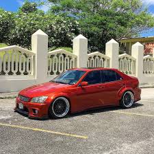 widebody lexus is300 front fender flares 40mm for lexus is300