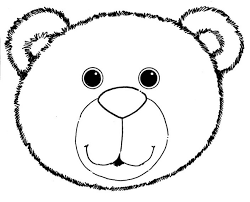 polar bear coloring pages image gallery bear face coloring