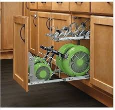 Kitchen Cabinet Pot Organizer Kitchen Cabinet Pot Organizer Pan Slide Pull Out Pantry Cookware