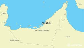 uae map where is the united arab emirates where is the united arab