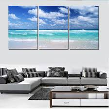 Art For Living Room Online Get Cheap Wave Canvas Aliexpress Com Alibaba Group