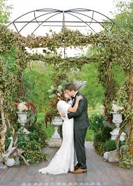 wedding arch nyc green wedding arch with vines and hops canandaigua new york