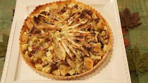sweet savory brie tart recipe by clinton the chew