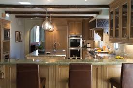 kitchen bar cabinets light oak cabinets kitchen rustic with breakfast bar cabinet front