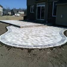 Cost To Install Paver Patio by How Much Base Do I Need For Paver Patio How Much For A Brick Paver