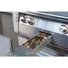 alfresco alxe 36 inch built in propane gas grill with rotisserie