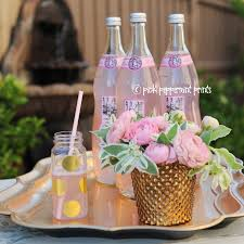 diy super cute and easy 2 step gold polka dot party drink bottles