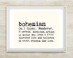 definition quotes pinterest bohemian 8x10 inches on a4 in light cream and black by mercimerci