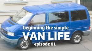 superminimalist com super minimalist vw van bed construction van life episode 01