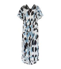 blue martini shan blue martini silk kaftan harrods com