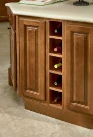 awesome modern kitchen wine racks interior design featuring brown