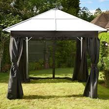 gazebo curtains shop for cheap sheds u0026 garden furniture and save