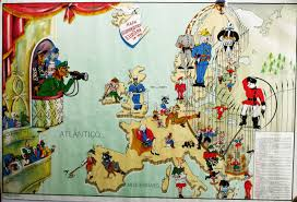 Map Of Europe World War 2 by Europe Satirical Maps Zoom Maps