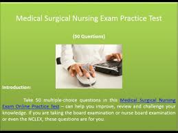 medical surgical nursing exam practice test 50 questions youtube
