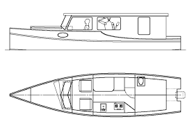 Wooden Boat Plans For Free by Shanty Boat Build