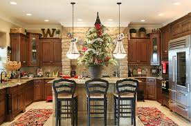 decorating ideas for kitchen islands decorating ideas that add festive charm to your kitchen