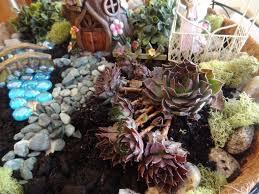 diy hanging fairy garden