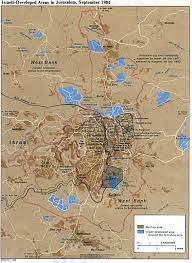 A New Map Of Jewish by Jerusalem Jewish History Resource Center