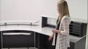 Custom Reception Desk Dimensions Custom Reception Station Reception Desks Modern