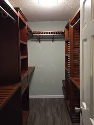 john louis home red mahogany closet installation closet